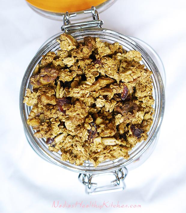 clean eating granola