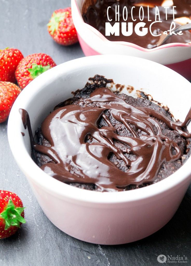 Vegan Gluten-Free Chocolate Mug Cake – Quick and easy treat when you ...