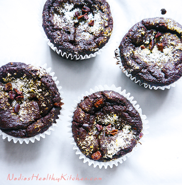 clean eating chocolate muffins_1