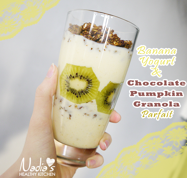 clean eating granola parfait