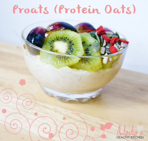 clean eating proats