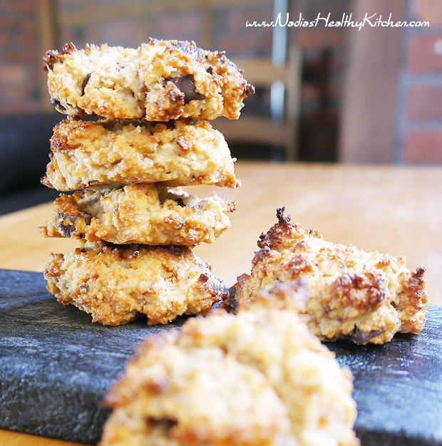 clean eating coconut butter cookies
