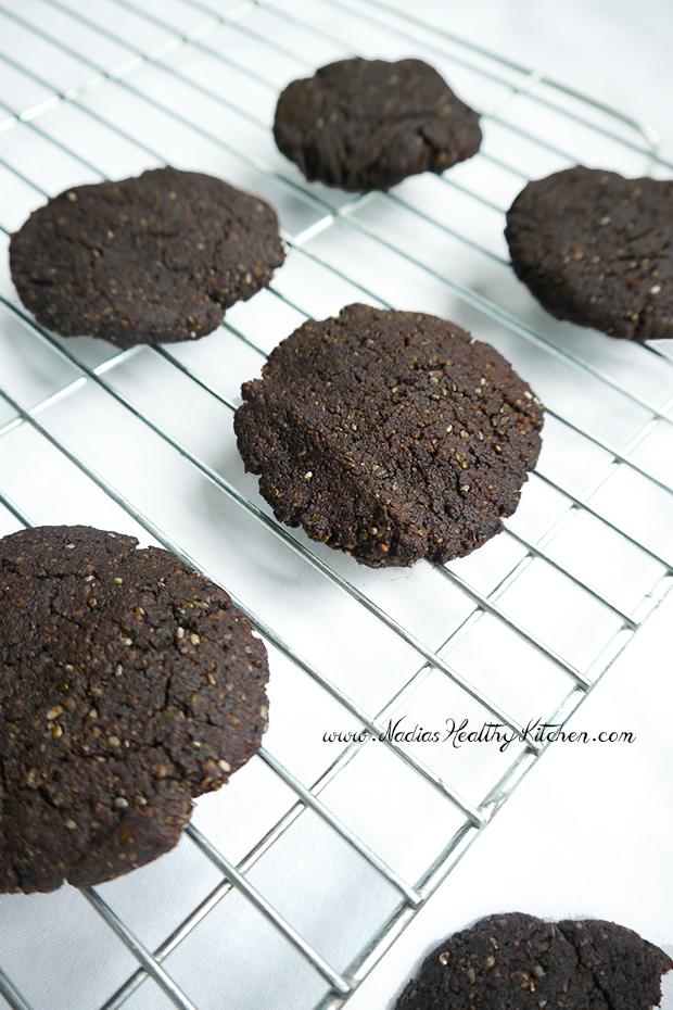 gluten-free chocolate wafer cookies