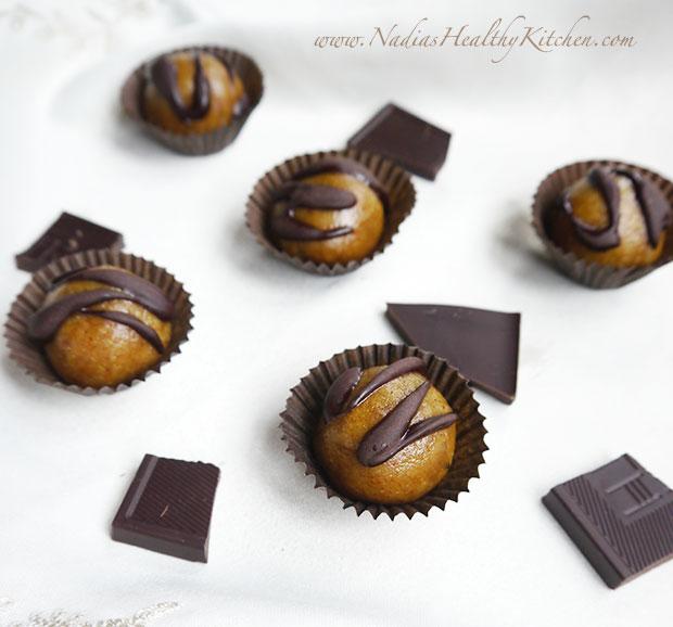 vanilla almond protein balls