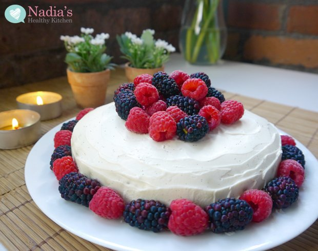 Healthy Gluten Free Birthday Cake