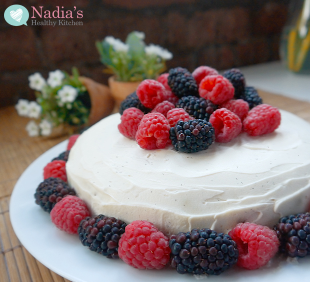 Healthy Gluten Free Birthday Cake UK Health Blog Nadias