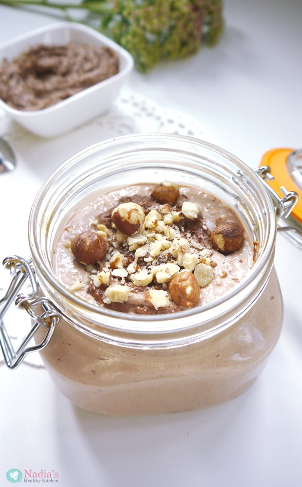 Nutella Overnight Oats - UK Health Blog - Nadia's Healthy Kitchen