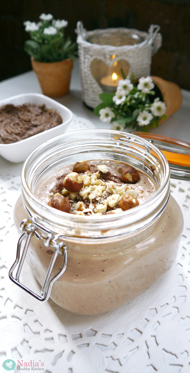 Nutella Overnight Oats