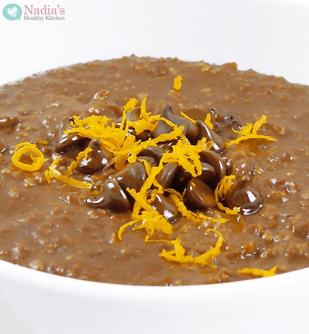 Chocolate-orange-oatmeal