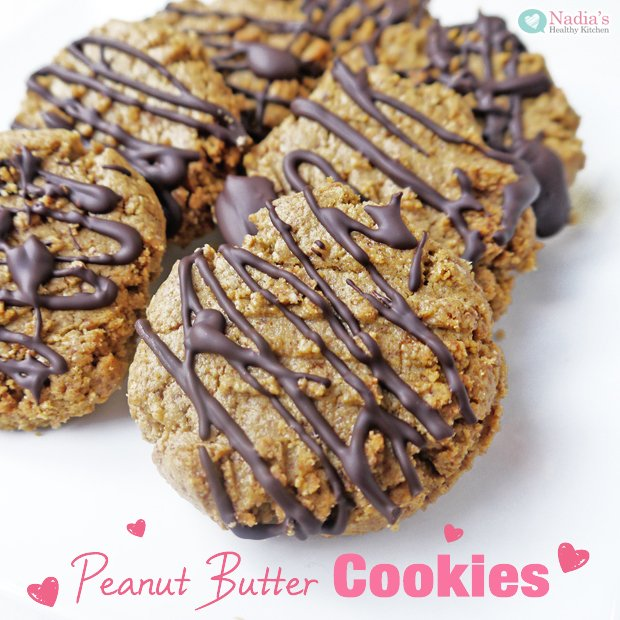 healthy-peanut-butter-cookies