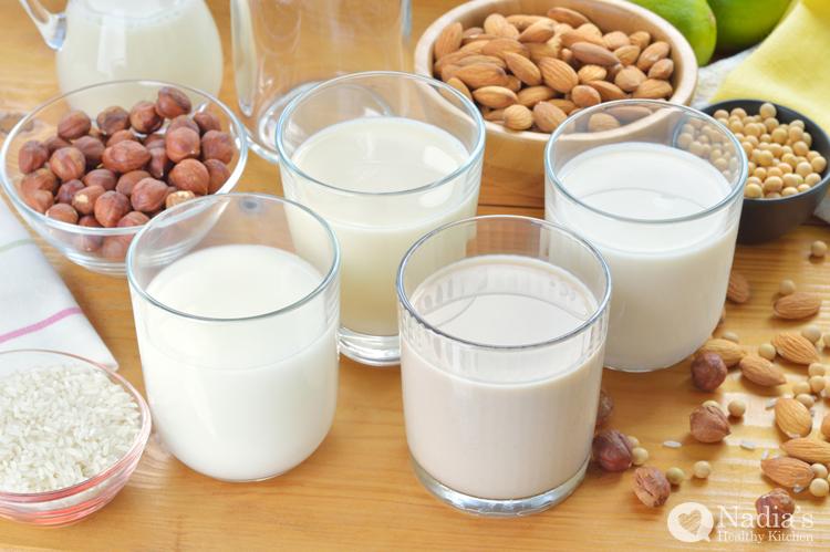 clean eating nut milks
