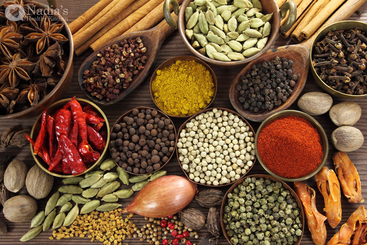 clean eating spices