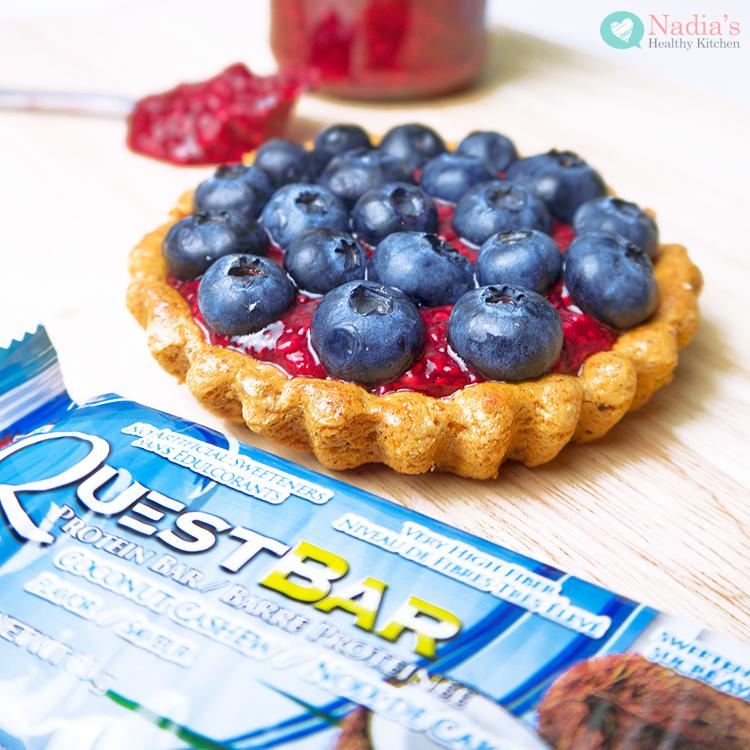 quest bar berry tart