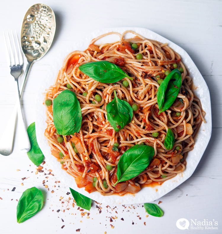 Gluten-Free-Vegetarian-Spaghetti