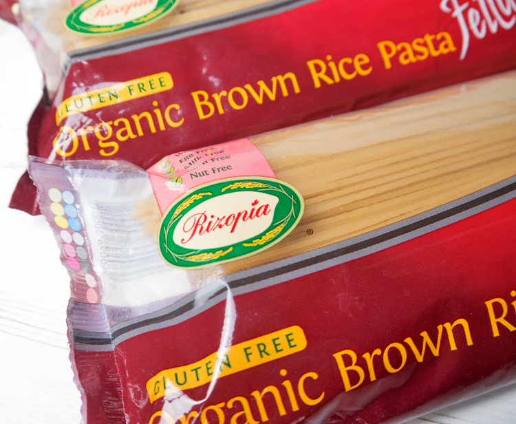 rizopia organic brown rice pasta