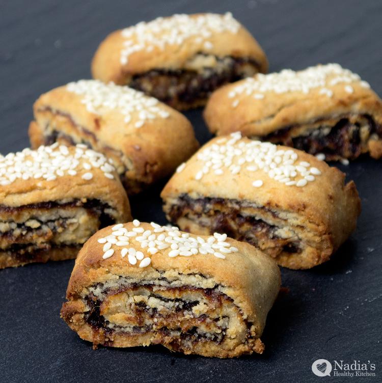 iraqi date cookies (klechia - كليجة)