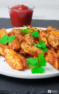 Baked Paprika Potato Wedges (Video)
