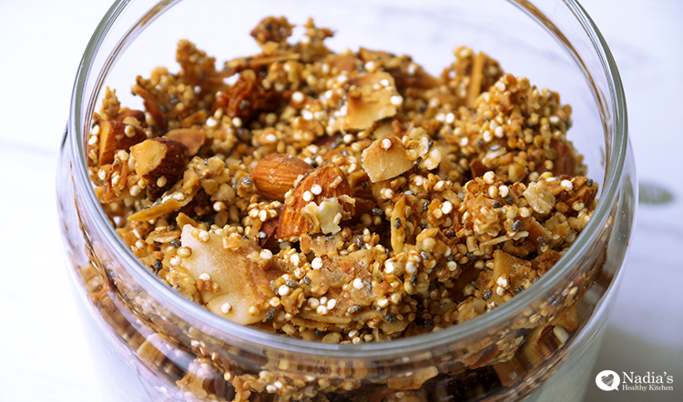... coconut granola coconut granola simply sugarless almond coconut