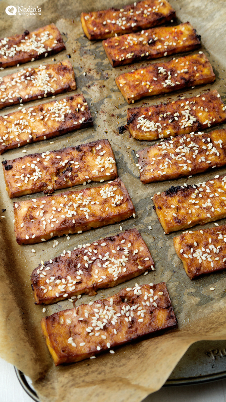 baked-tamari-&-maple-tofu-with-rice-noodles