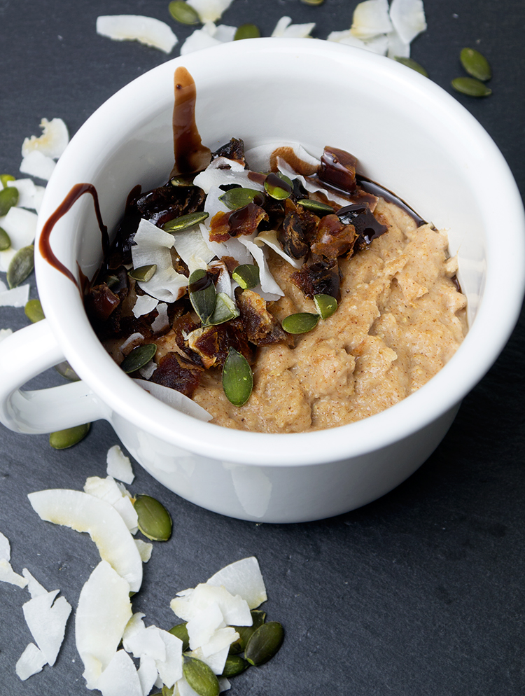 chai spiced porridge