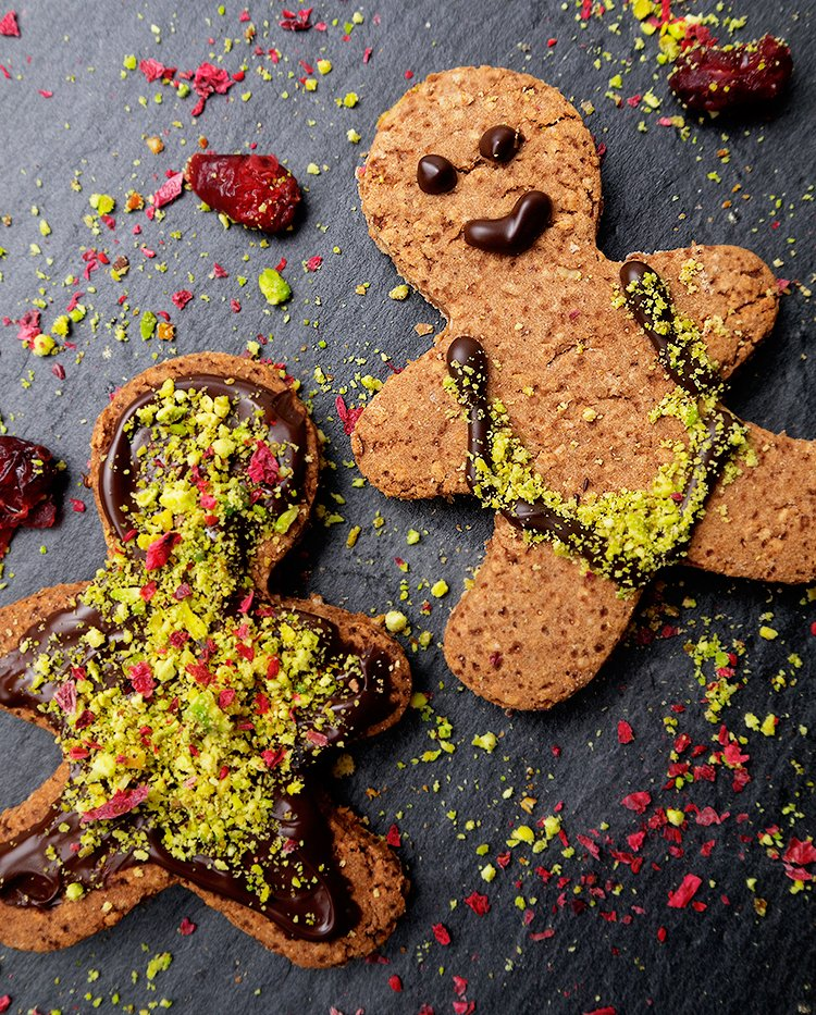 vegan gluten free gingerbread men