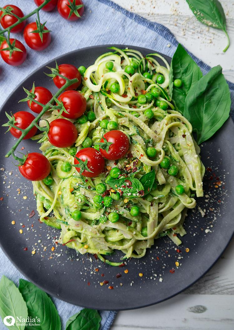avocado-courgette-spaghetti