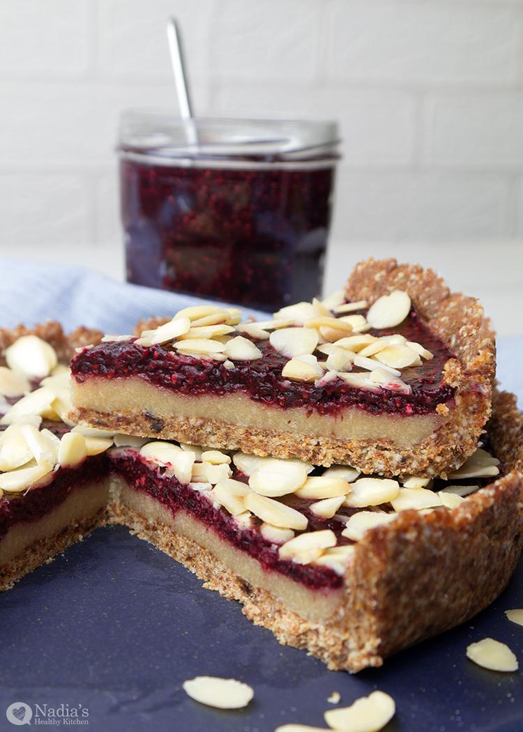 Cherry Bakewell Cake Gluten Free