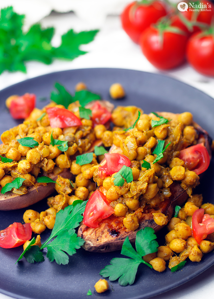 baked-sweet-potato-with-garam-masala-chickpeas