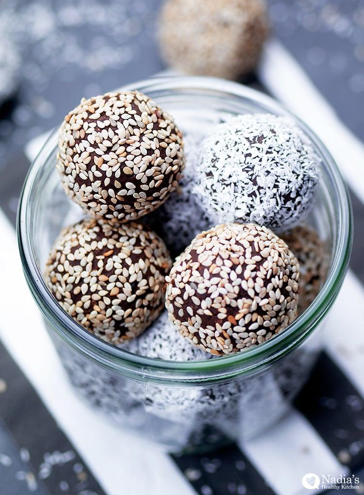 chocolate-cardamom-tahini-truffles