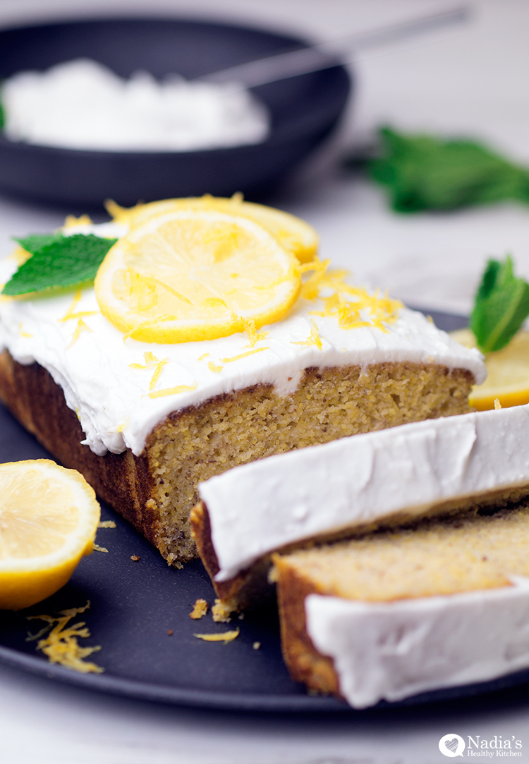 Lemon Rosemary Cake Vegan