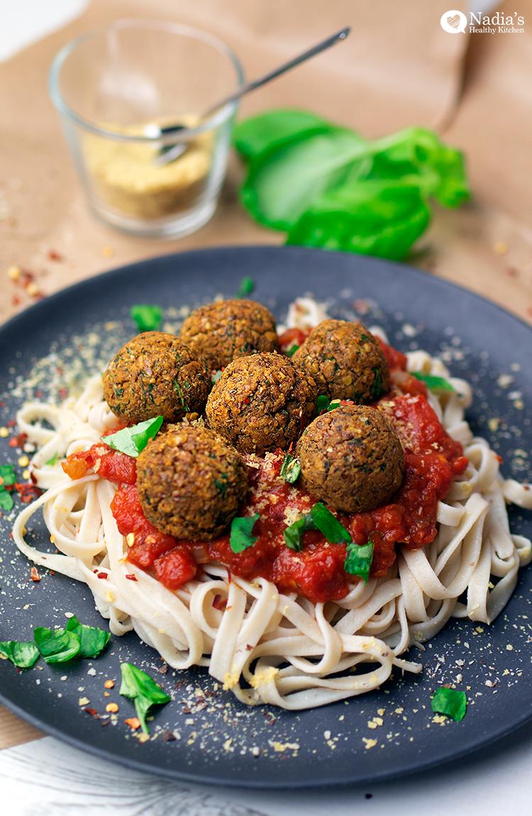 lentil-meatball-spaghetti