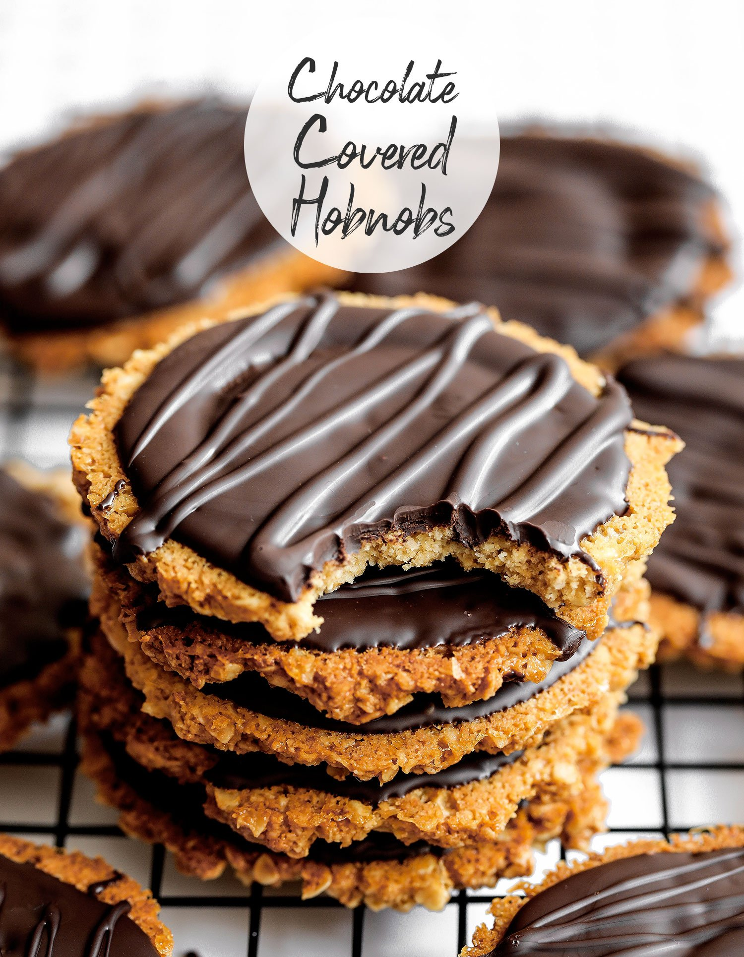 Homemade Chocolate Hobnobs (Vegan Gluten-free)