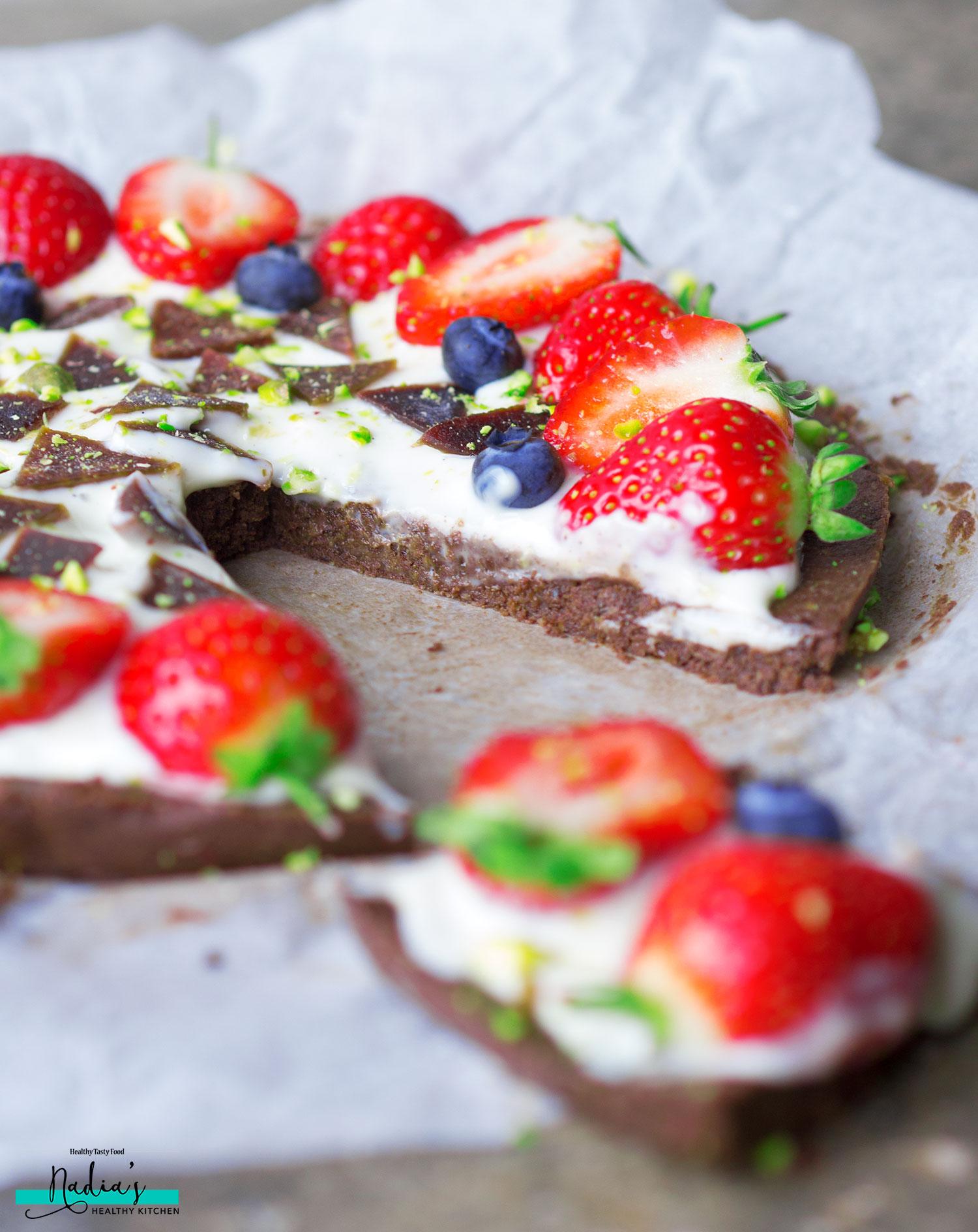 Vegan gluten free dessert pizza uk health blog nadia - Dessert vegan sans gluten ...