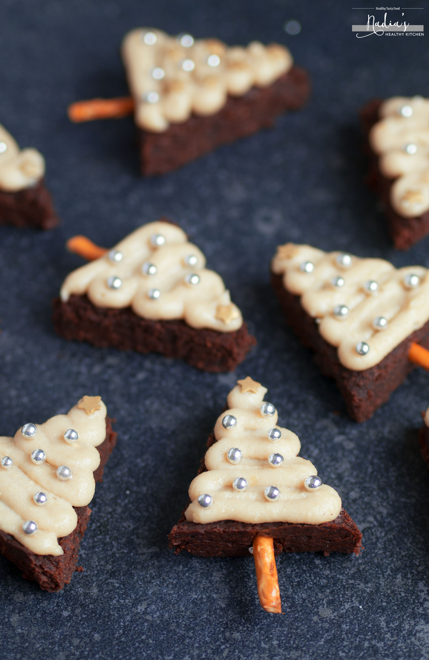 vegan-gluten-free-christmas-tree-brownies