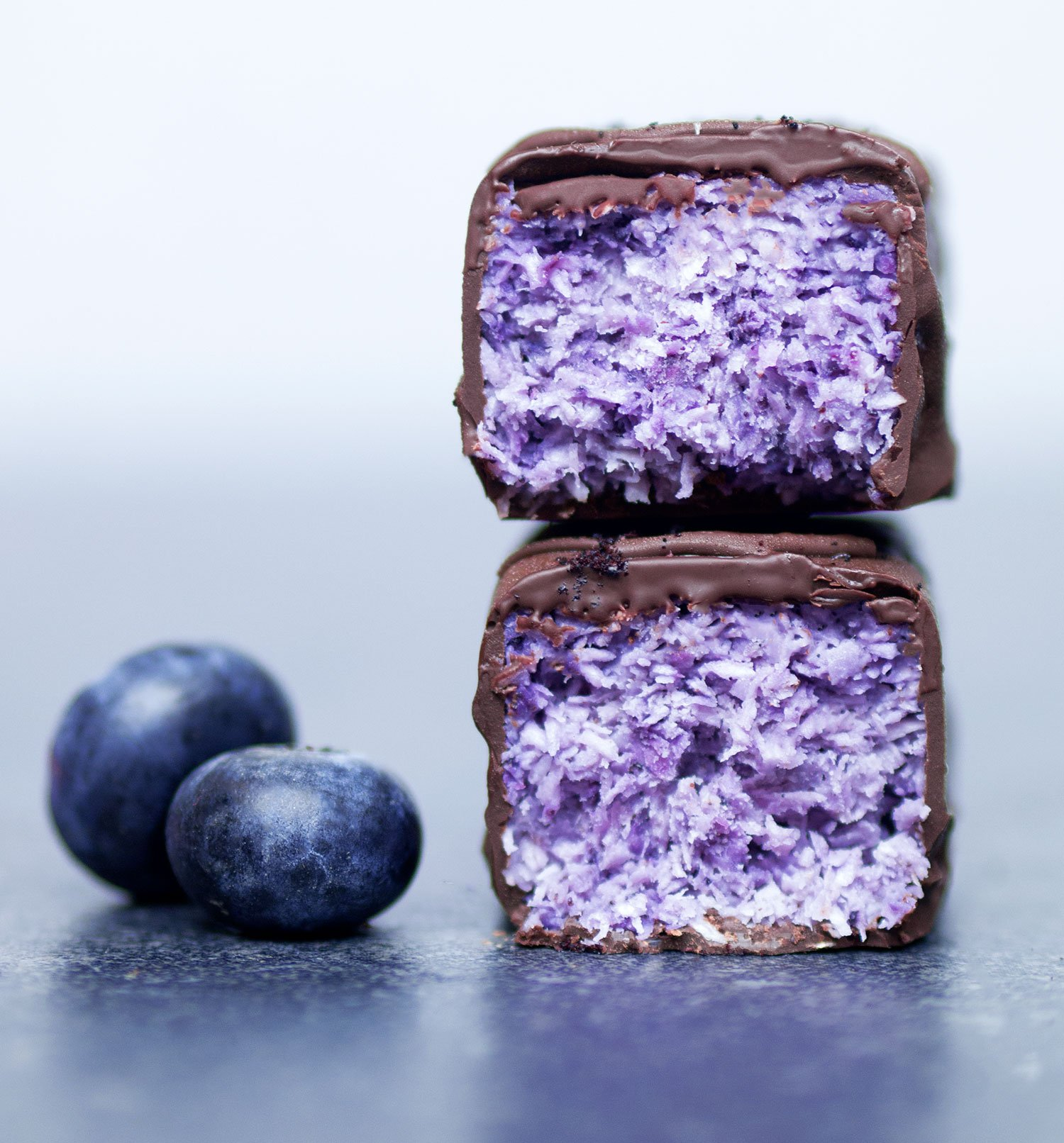 Vegan Blueberry Bounty Bars