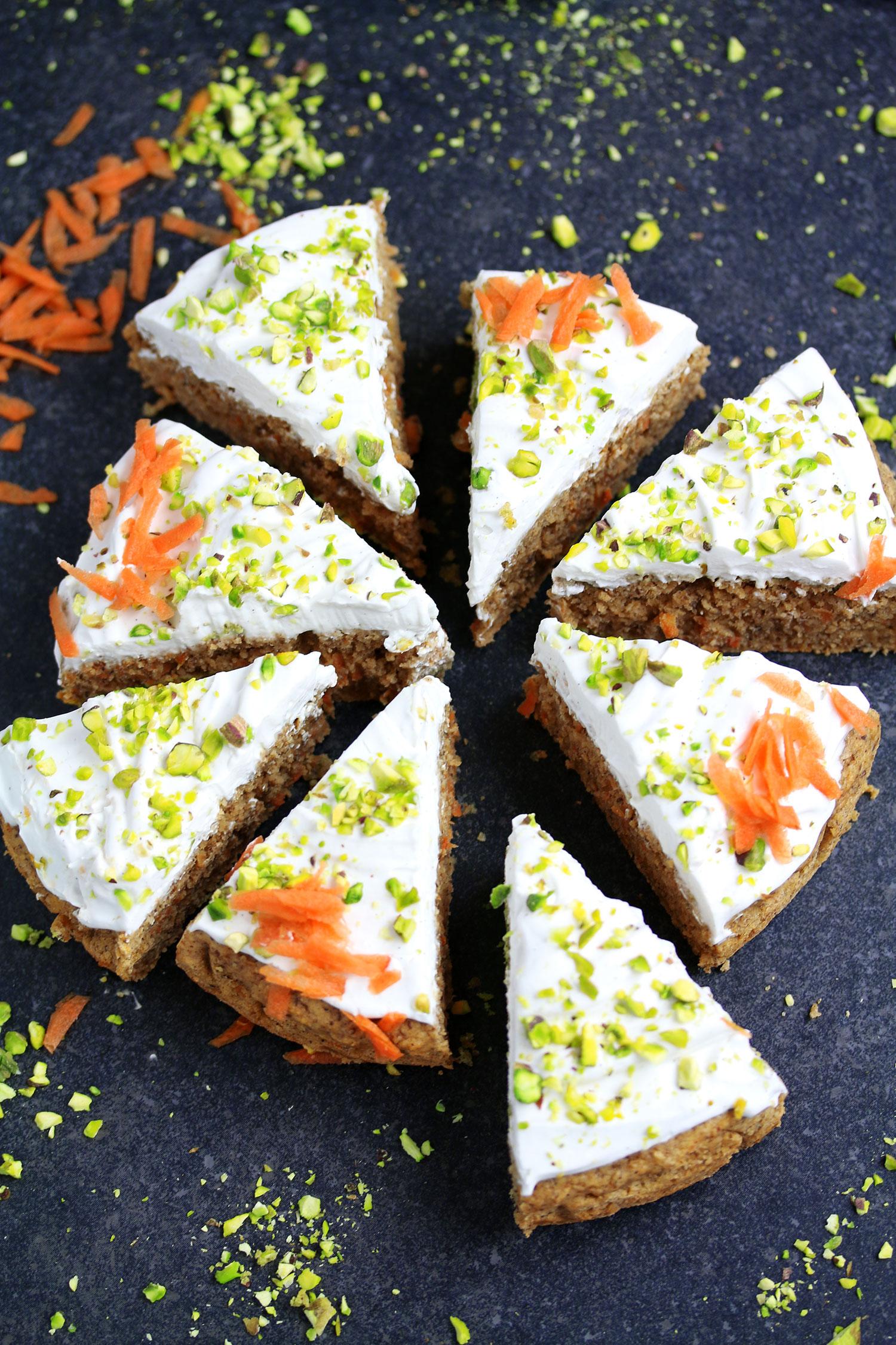 Vegan Gluten Free Carrot Cake Uk Health Blog Nadia S Healthy Kitchen
