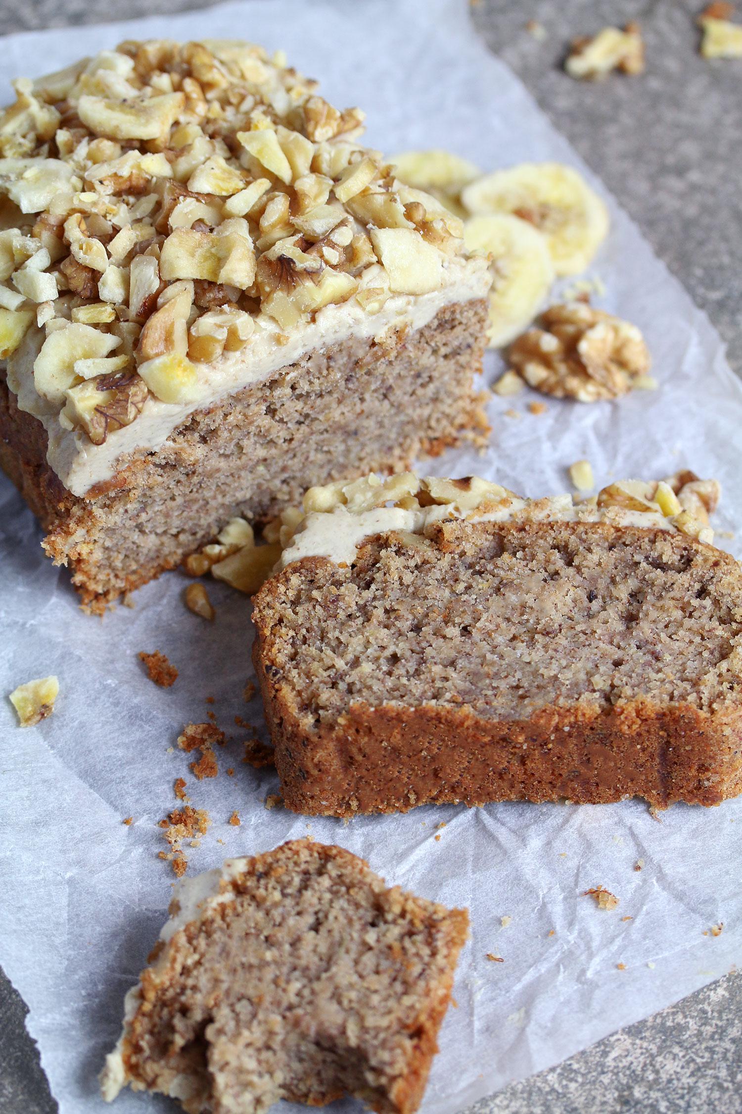 vegan gluten-free banana bread