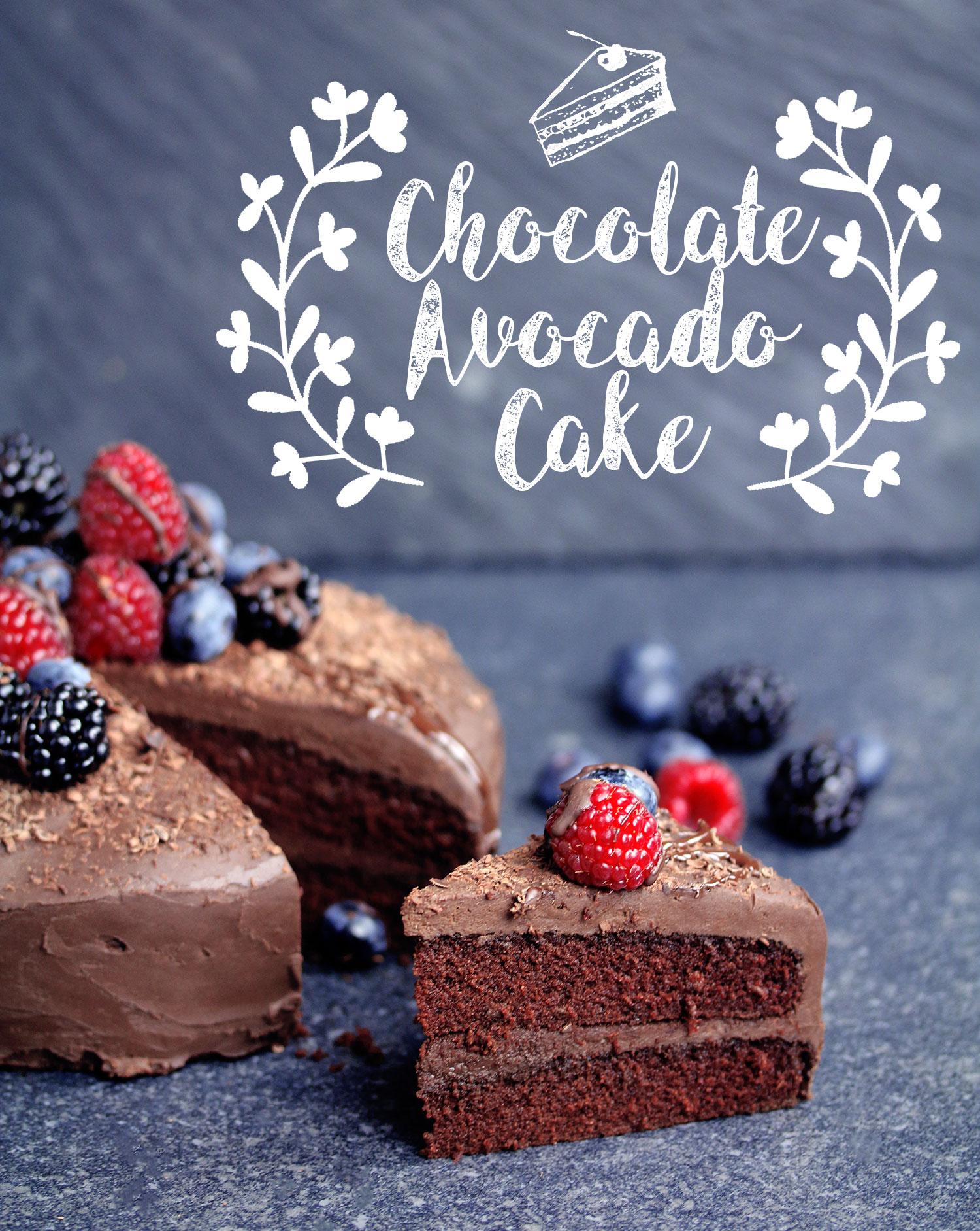 Vegan Glutenfree Chocolate Avocado Cake UK Health Blog Nadias