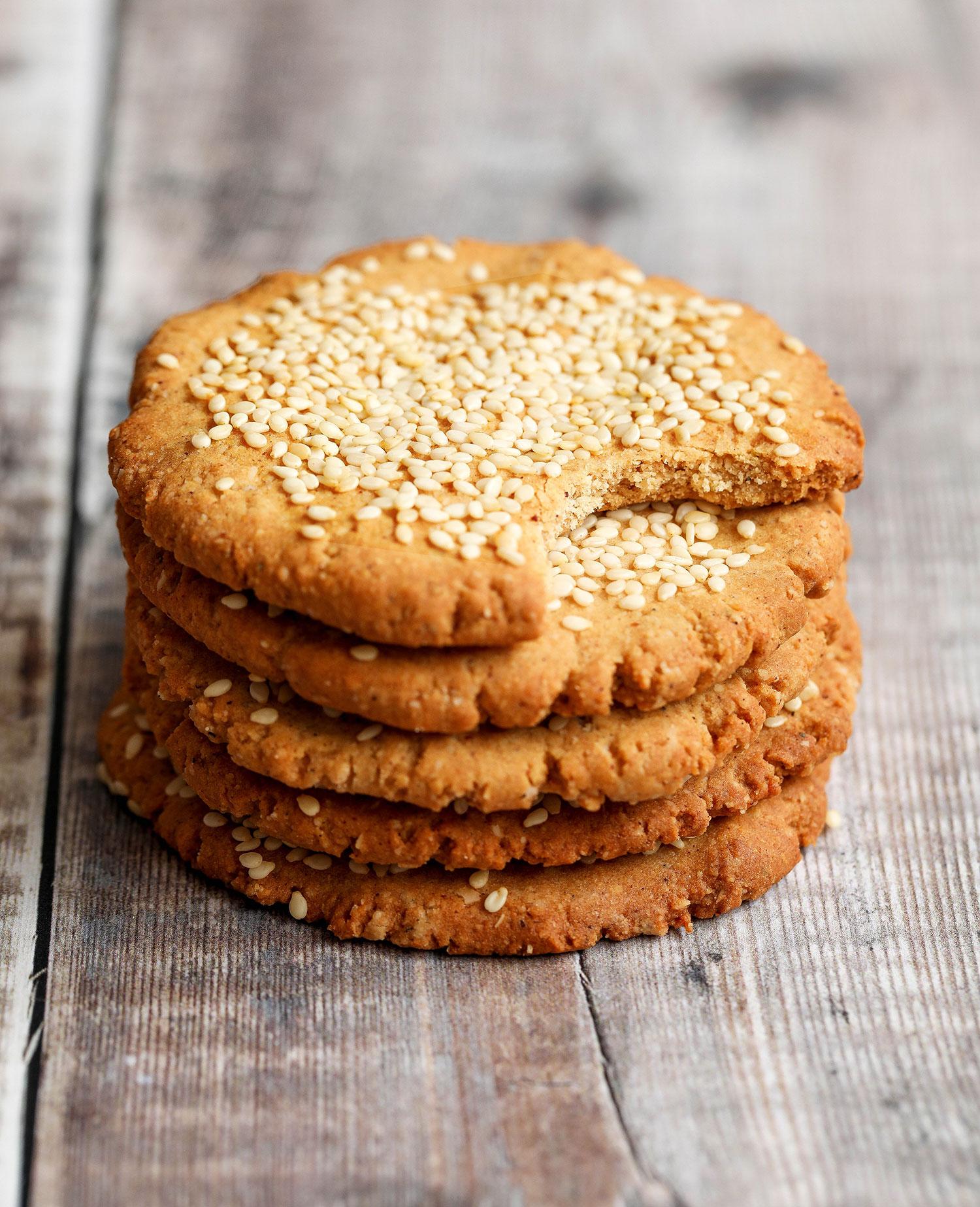 Tahini Cardamom Cookies