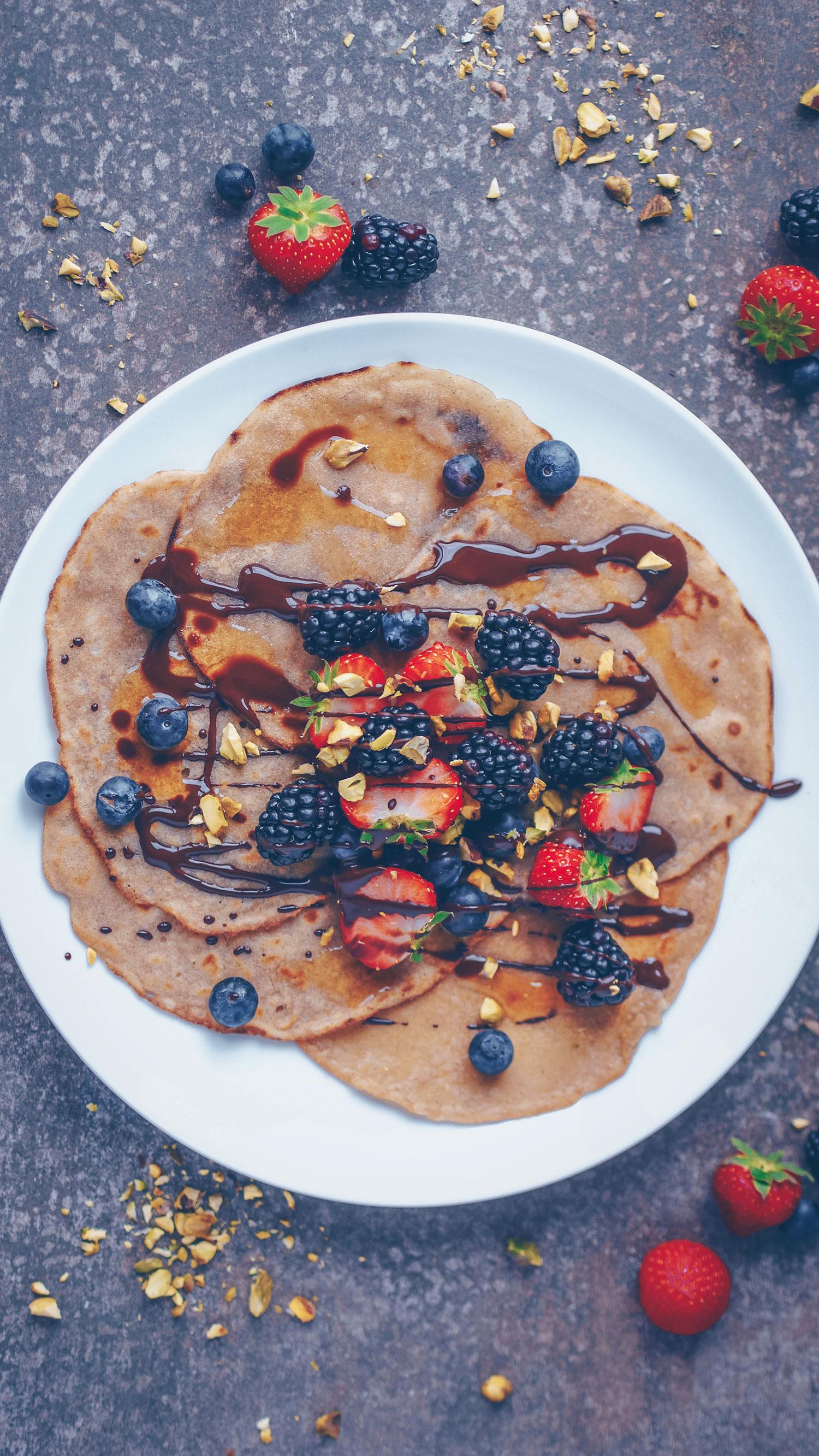 Simple Gluten-free Vegan Crepes