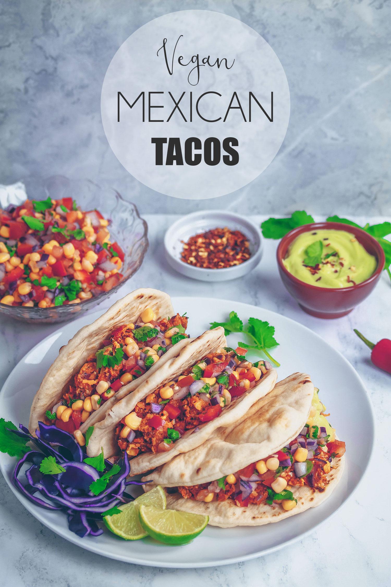 Vegan Spicy Mexican Tacos