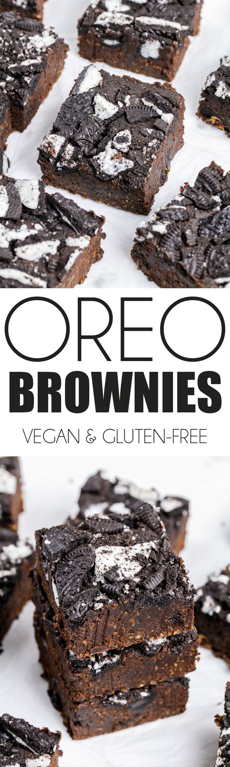 Healthified Vegan Oreo Brownies Using Go Cook Exclusively For Tesco Uk Health Blog Nadia S Healthy Kitchen