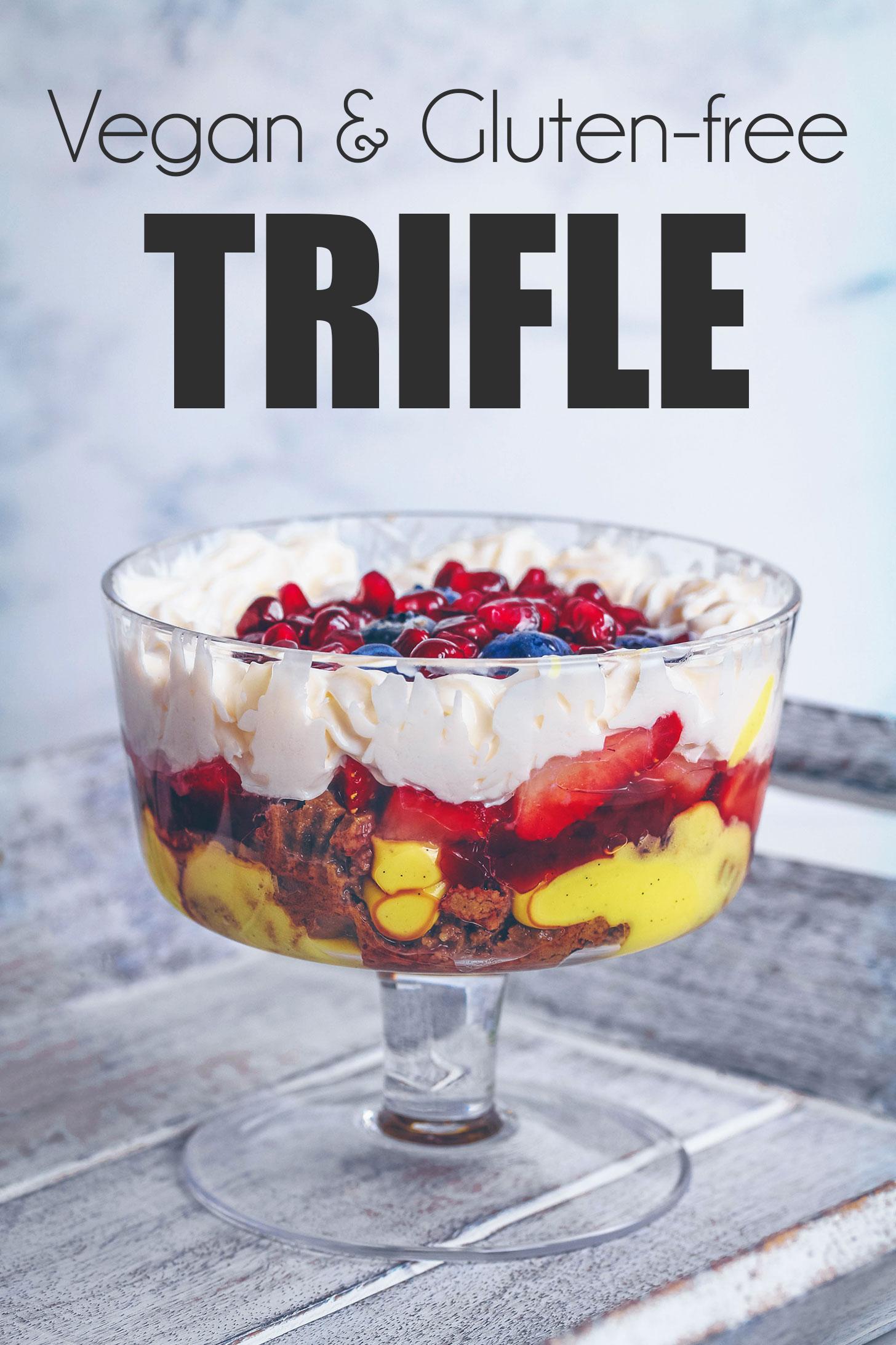 Vegan & Gluten-free Trifle