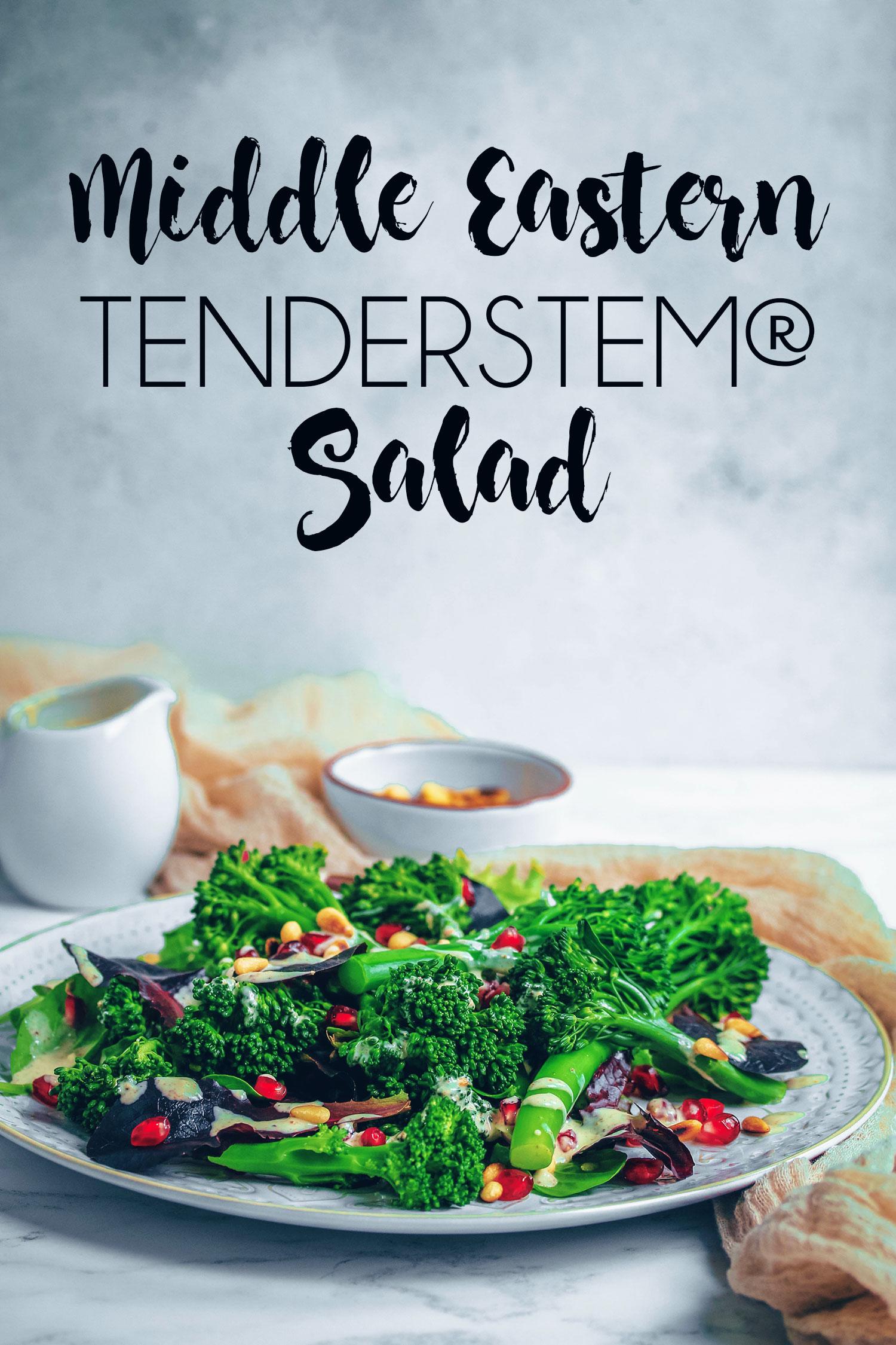Middle Eastern Tenderstem® Salad - UK Health Blog - Nadia\'s Healthy ...