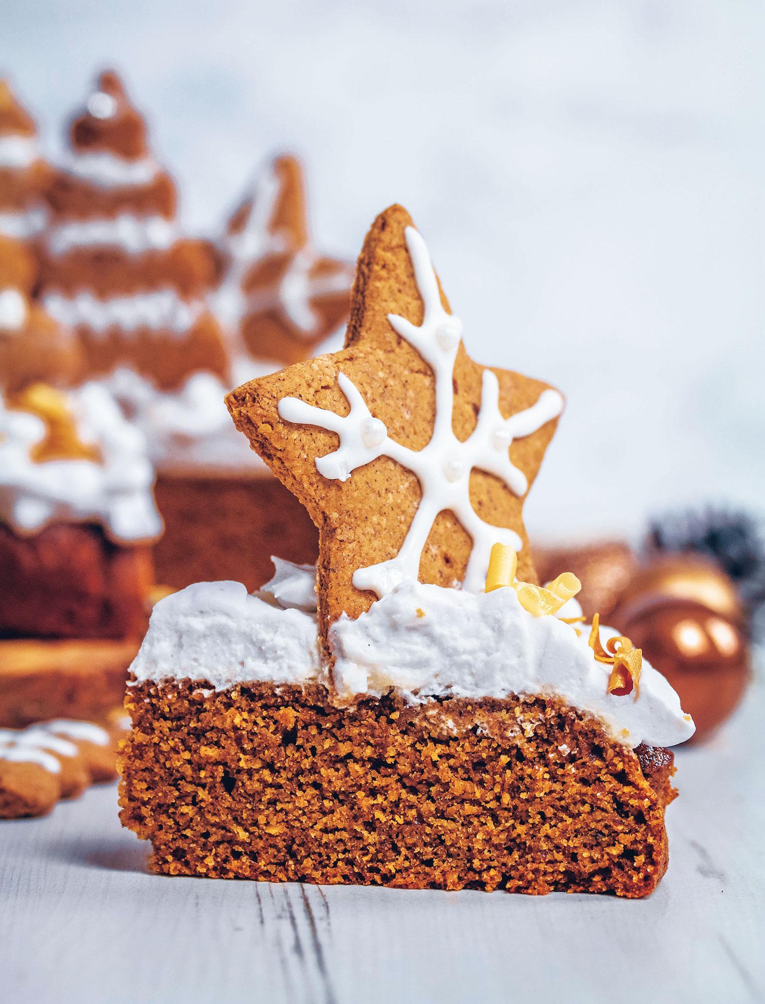 Vegan & Gluten-free Christmas Gingerbread Cake - UK Health ...