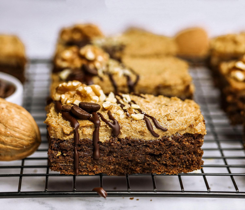 California Walnut Coffee Cake Bars Uk Health Blog