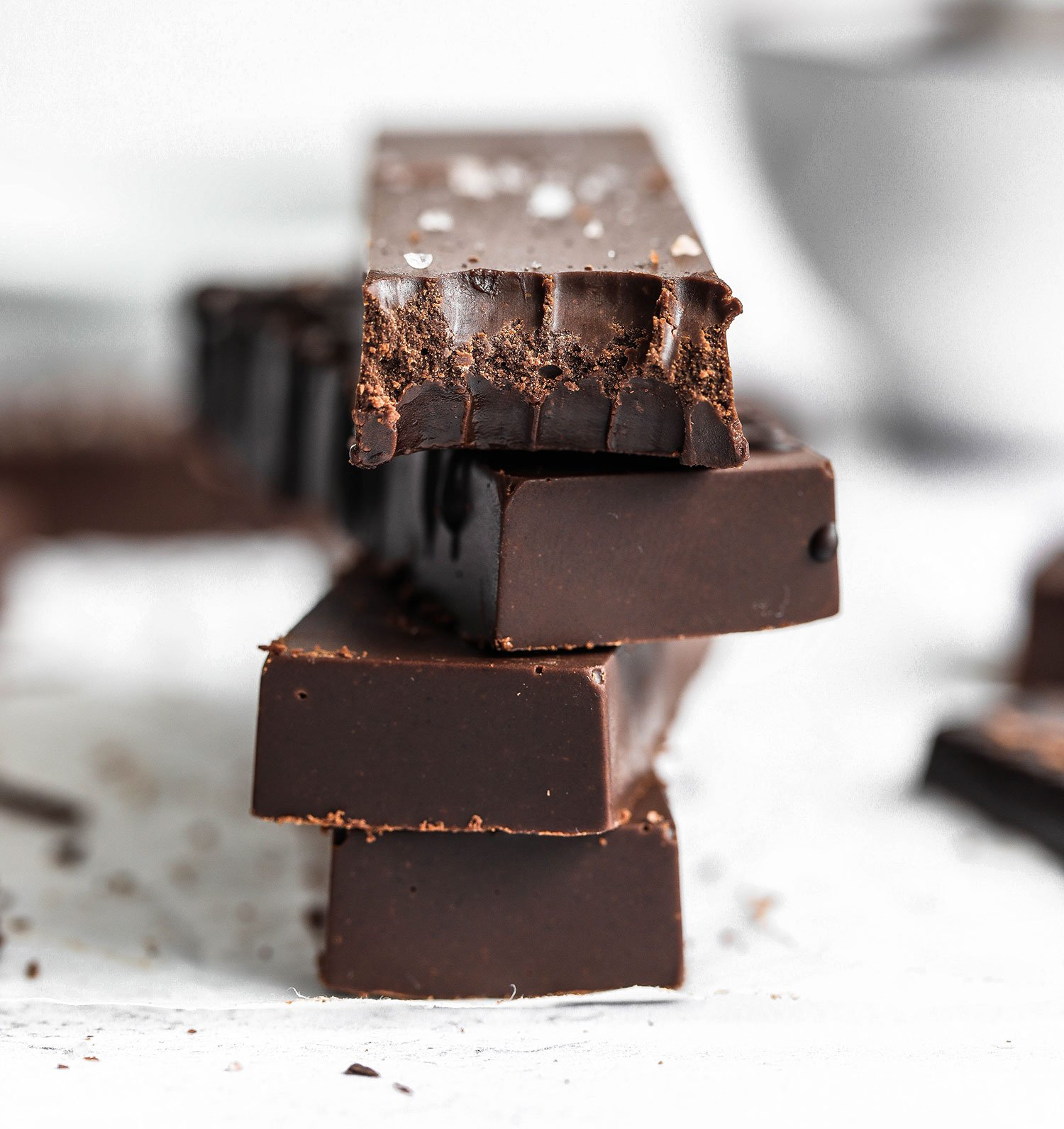 2-Ingredient Vegan Chocolate Fudge