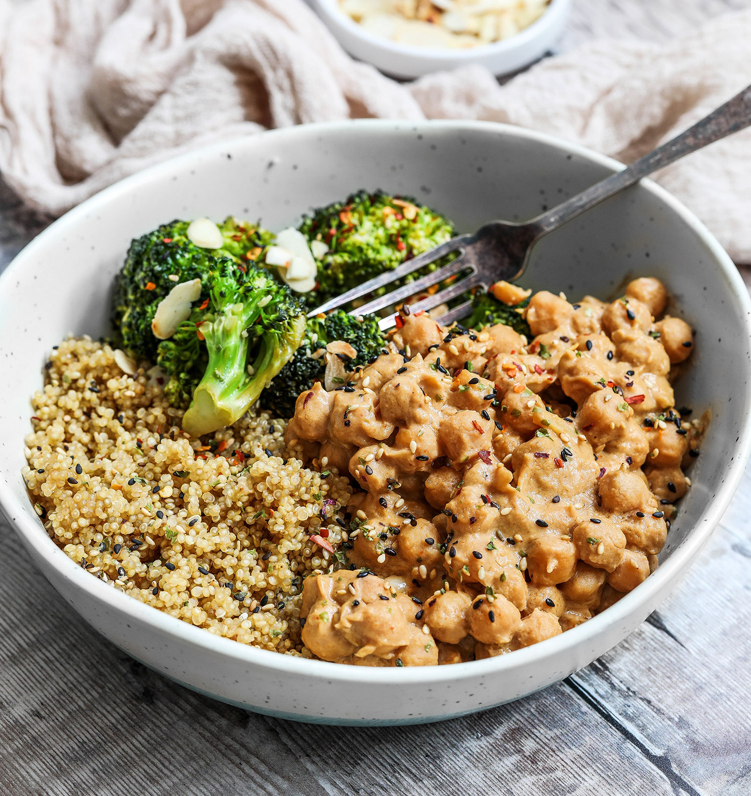 Vegan Chickpea Peanut Butter Curry