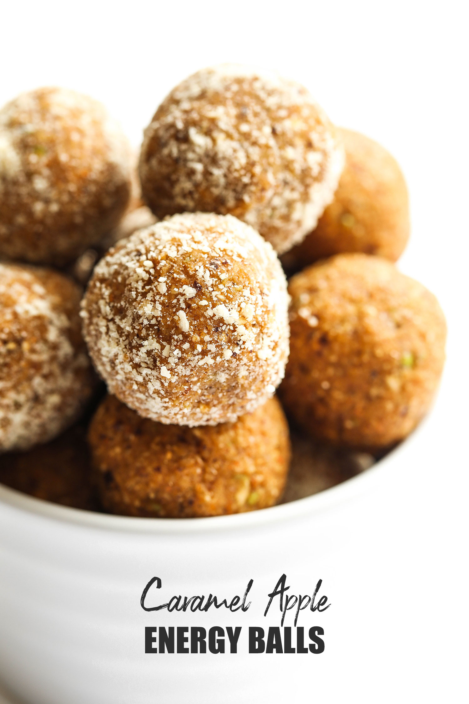 Caramel Bramley Apple Energy Balls
