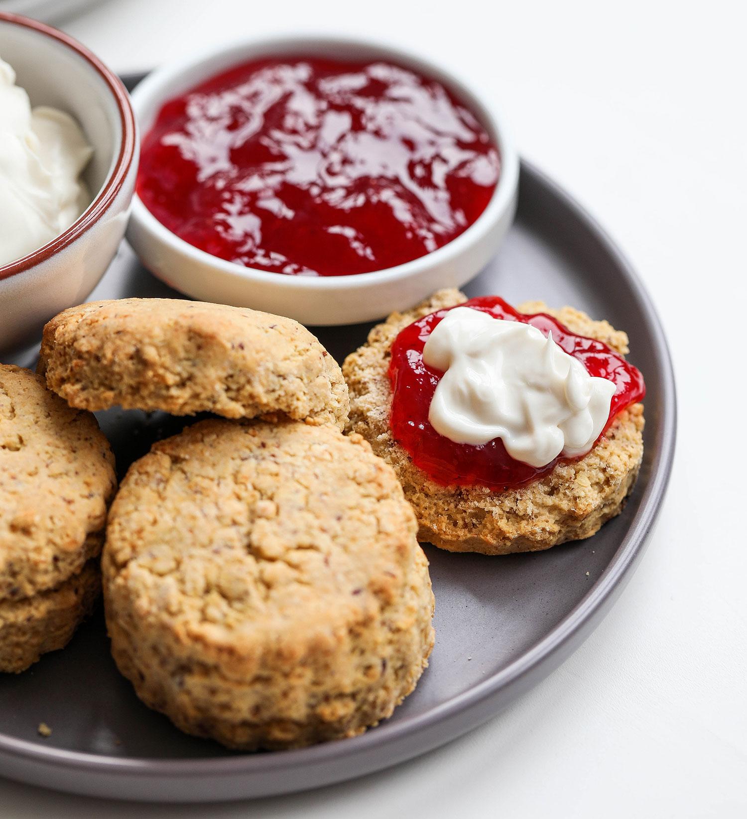 Vegan & Gluten-free Scones